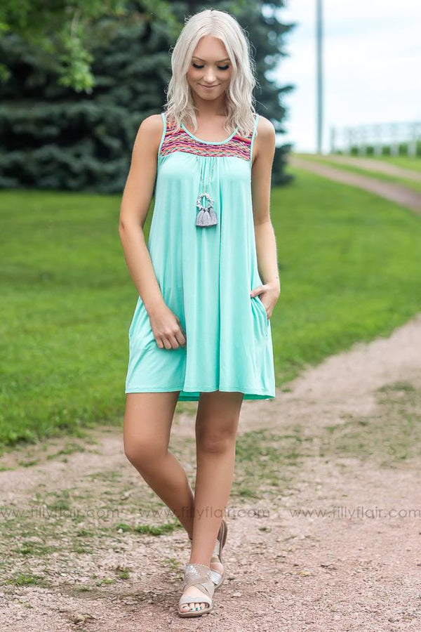 Madison Bridesmaid Dress in Mint