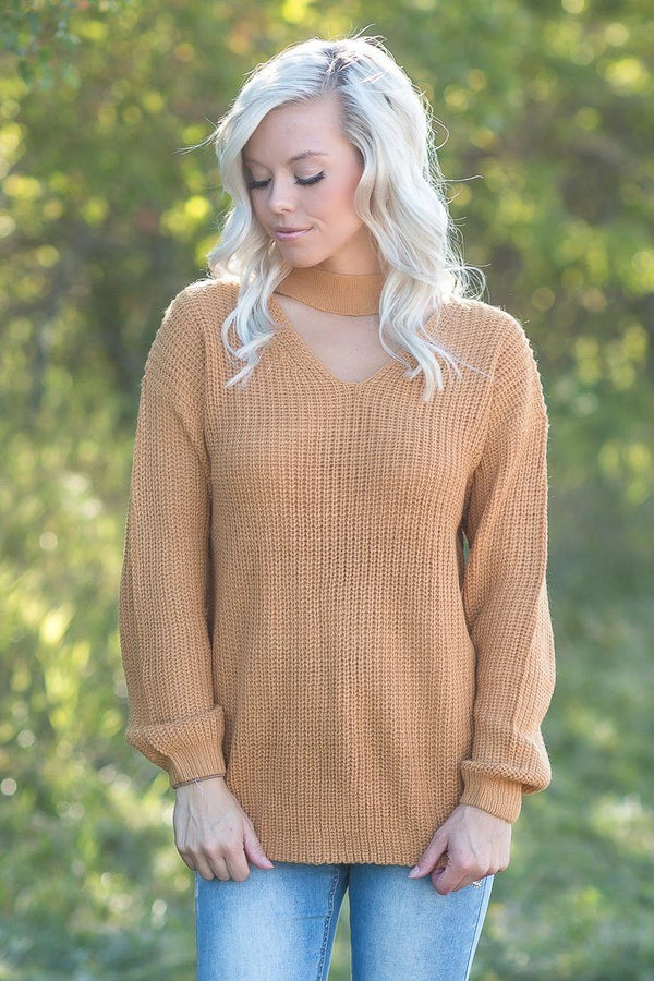 Trend Setter Sweater in Mustard
