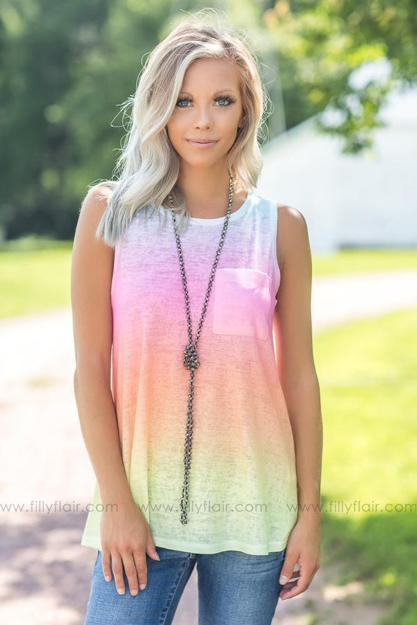 Every Girls Dream Ombre Tank Top