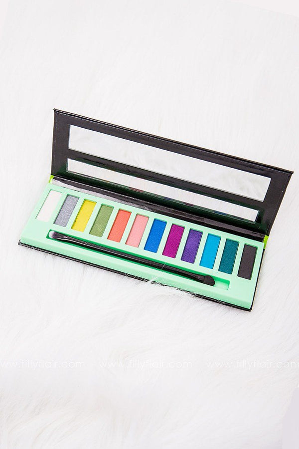 LA Girl Neons Beauty Brick Eye Shadow Set