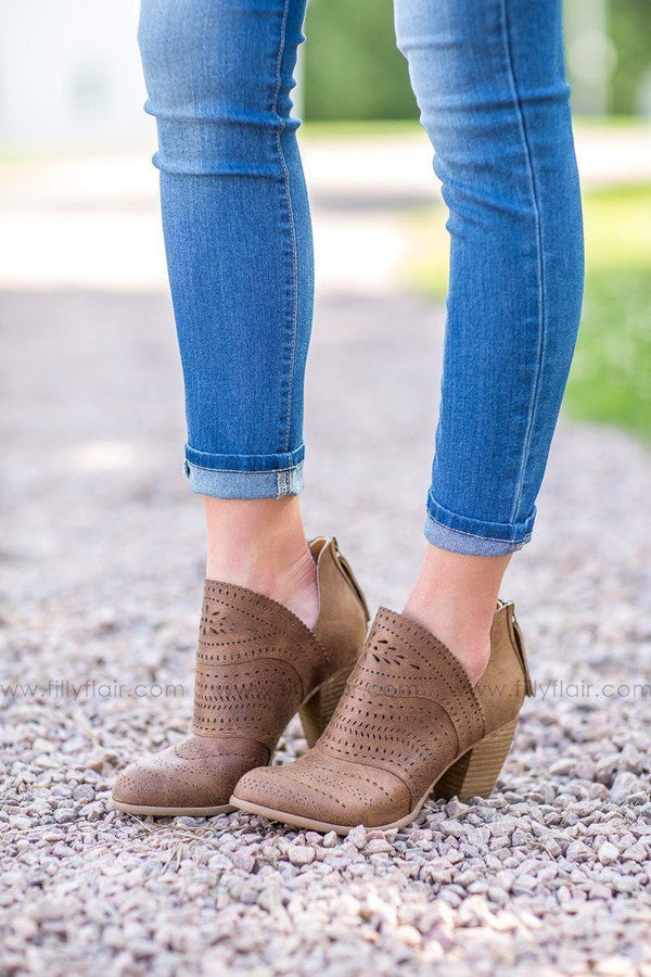 Not Rated Cinati Tan Booties