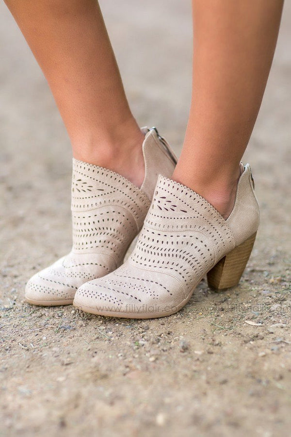 Not Rated Cinati Cream Booties
