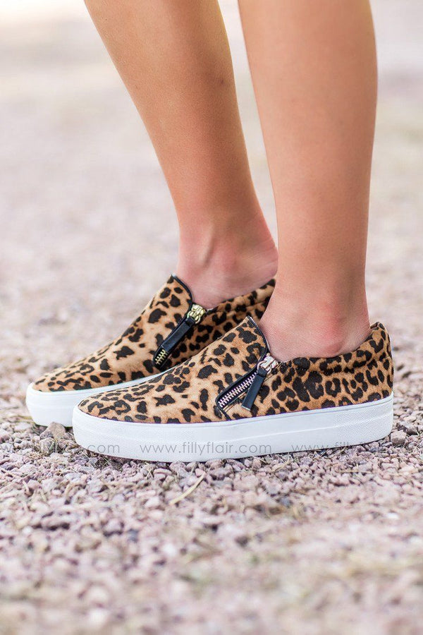 Not Rated Timor Leopard Slip on Shoe