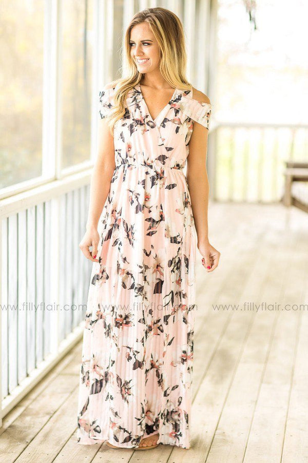 Pretty Woman Floral Maxi Dress