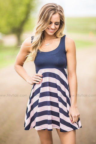 Ivy Bridesmaid Dress in Navy