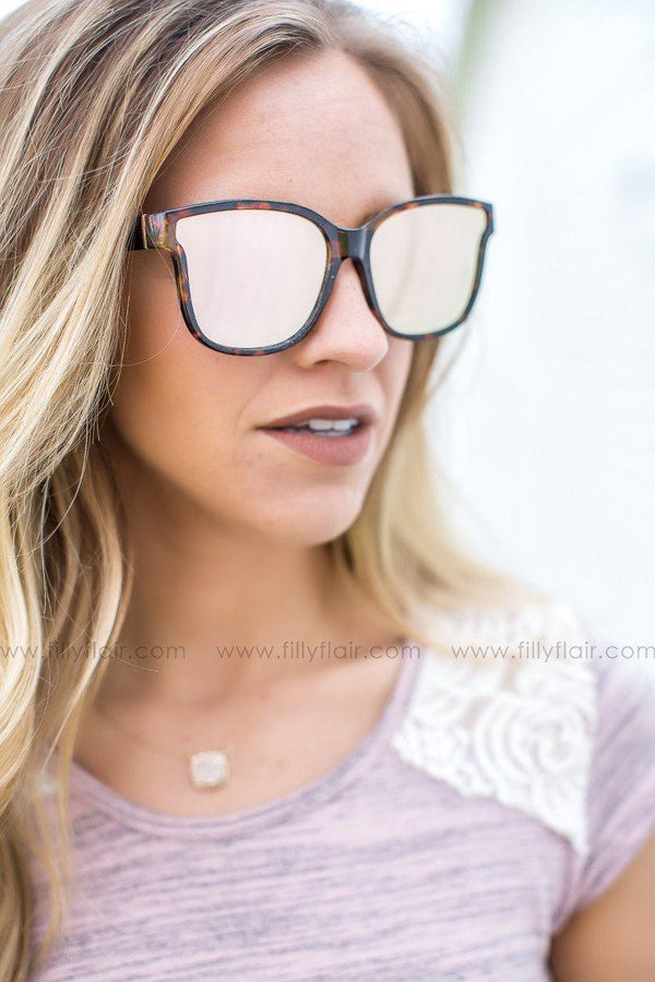 Mirror Mirror Sunglasses with Copper lenses