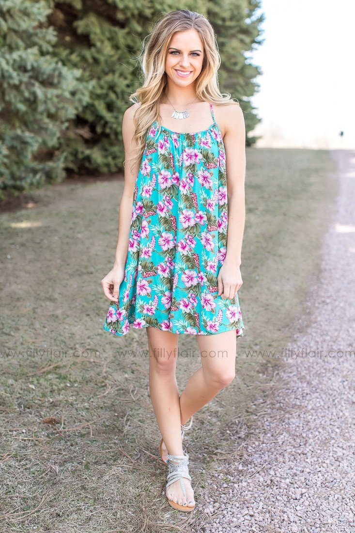 All Your Love Floral Print Dress