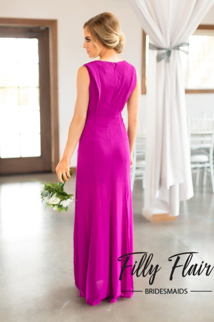 Purple Bridesmaid Dresses