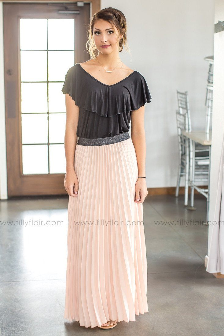 online boutique maxi skirt