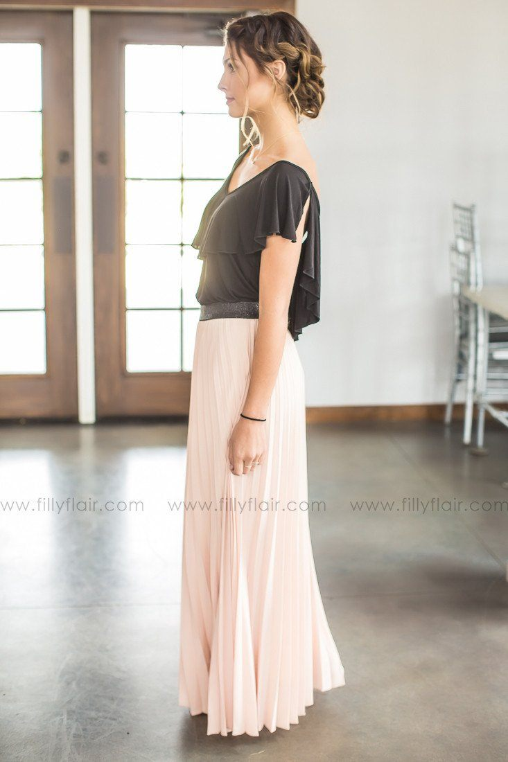 online boutique women's pink skirt