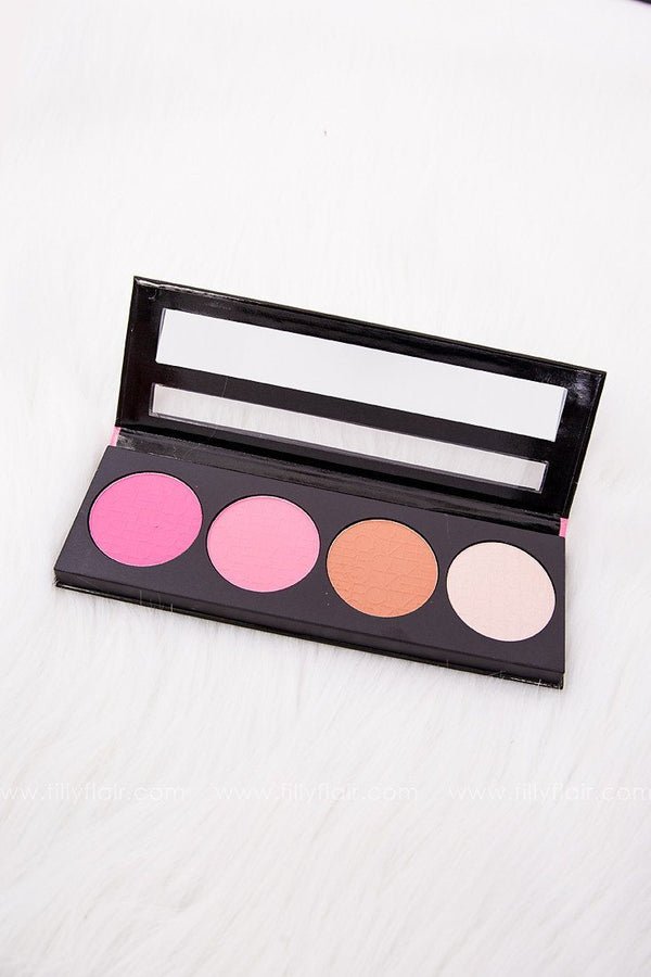 LA Girl Pinky Beauty Brick Blush Set
