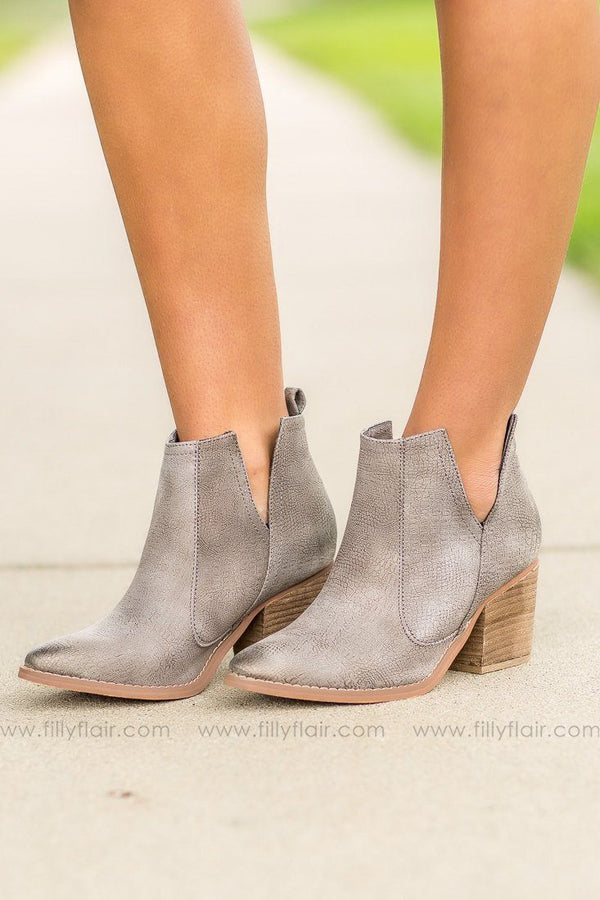 Grey Not Rated Shea Booties