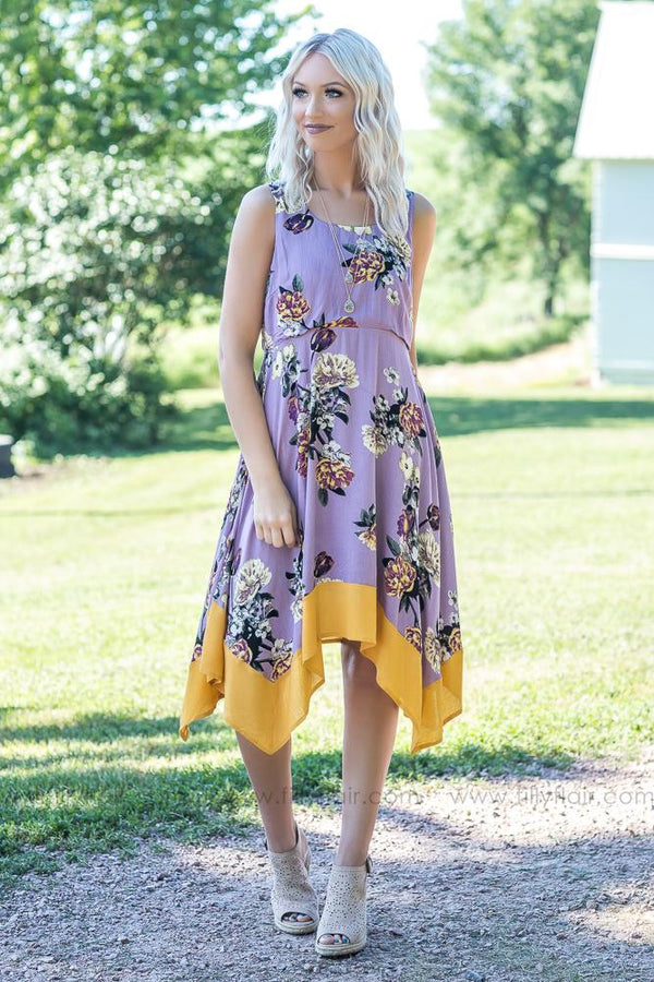 Sweet Summer Floral Print Dress - Filly Flair