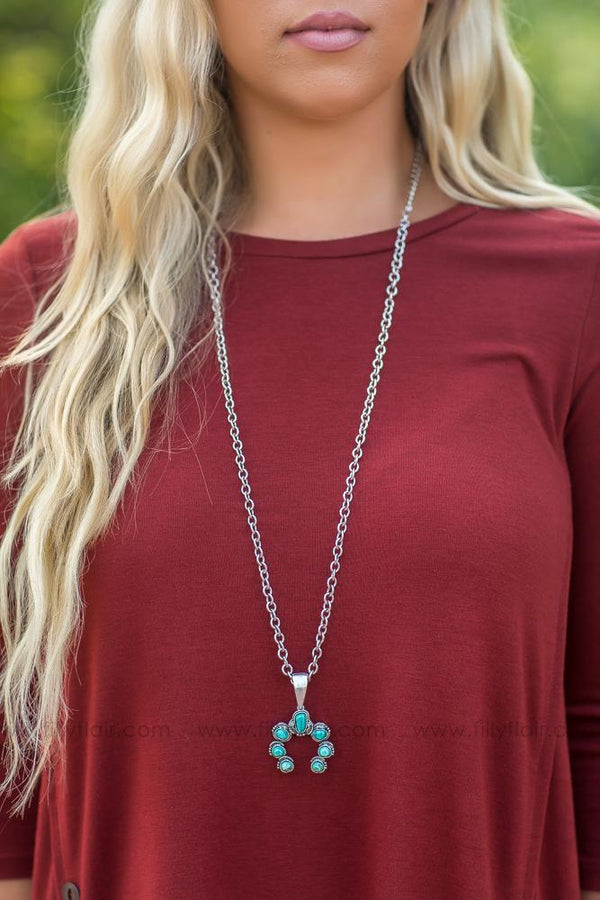 Lady Luck Turquoise Necklace - Filly Flair