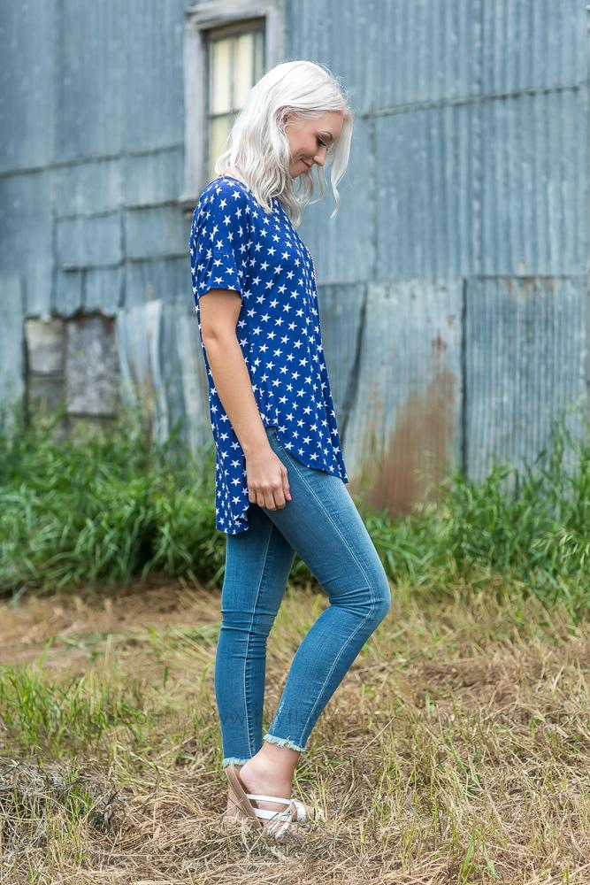 Oh My Stars Americana Tee - Filly Flair