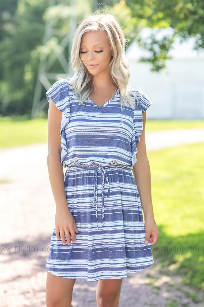 Easy Days Striped Dress - Filly Flair