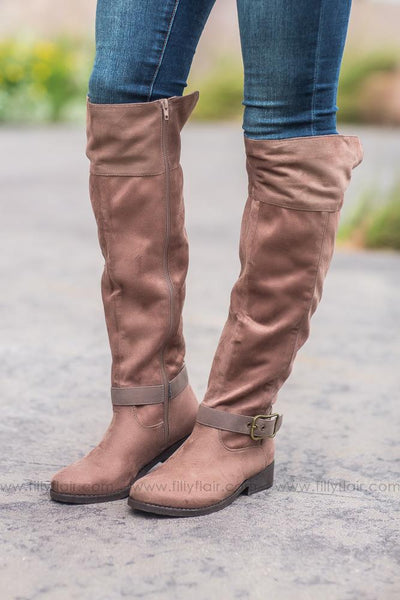 Walk of Life Plateau Nutmeg Tall Boots - Filly Flair