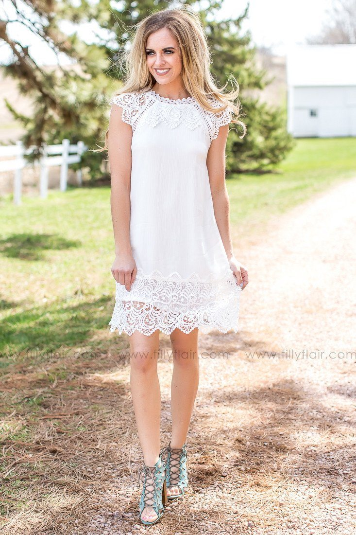 My Epiphany Lace Dress in White