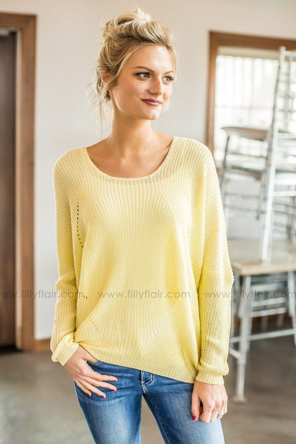 yellow boutique top