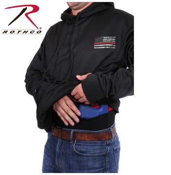 The Thin Red Line Concealed Carry Hoodie