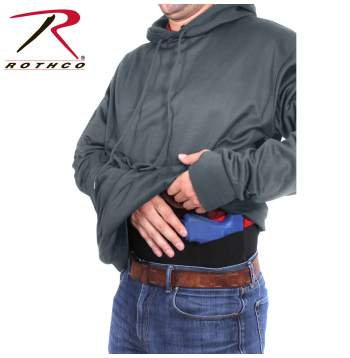 Concealed Carry Hoodie Gray