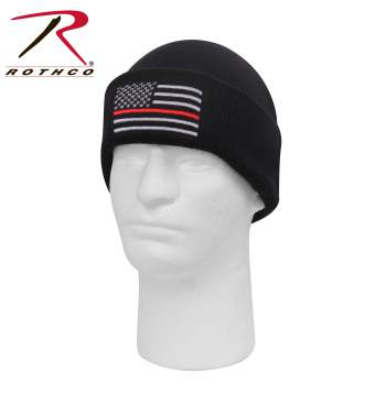 The Thin Red Line Watch Cap