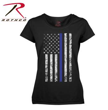 The Thin Blue Line Women's Cut T-Shirt