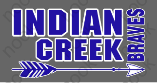 Indian Creek Braves - Blue