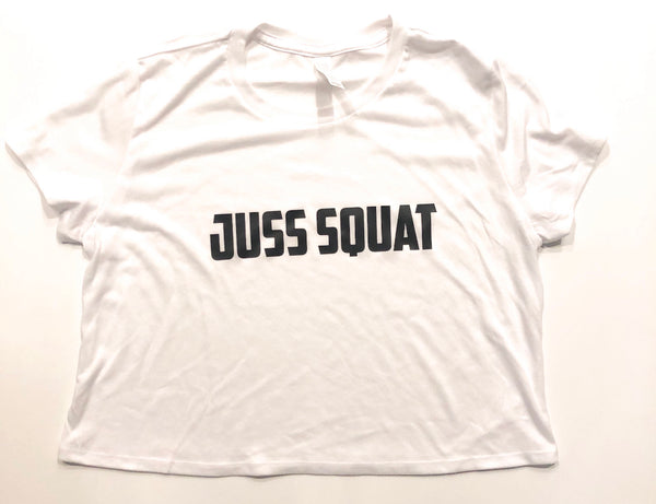 "Women's ""Juss Squat"" Croptop"