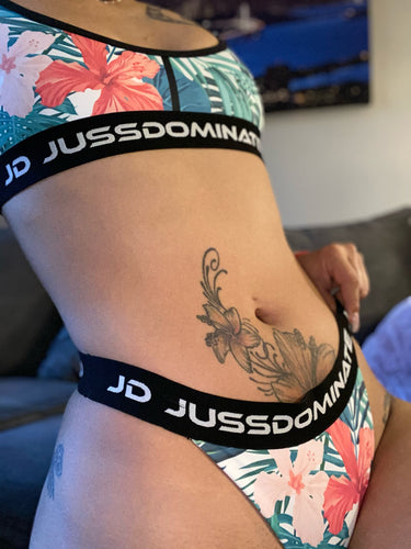 JD Miami Tropical Thong Set