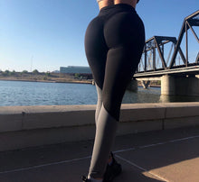 Love Gray/Black Scrunch Leggings