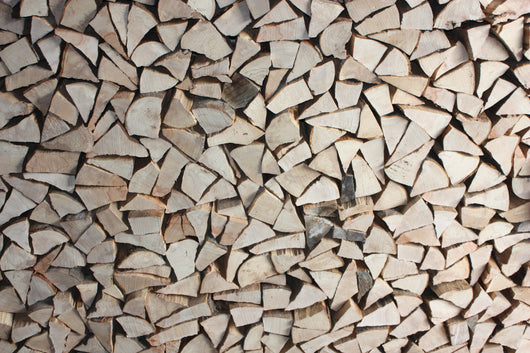 Dry Mixed Softwood Split Logs 25cm Lengths - 6.0m3