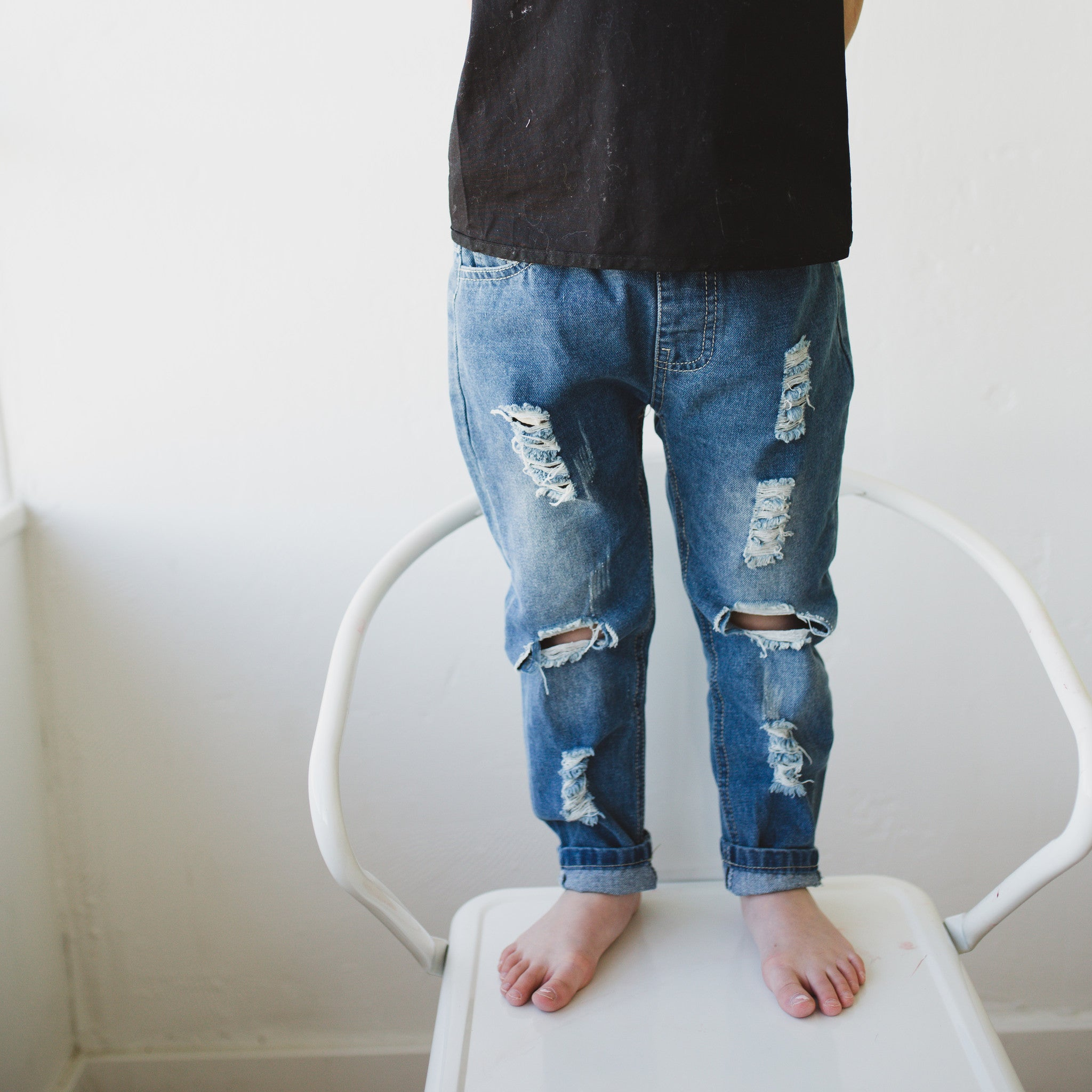 We love these Holy Jeans!!  They are so comfy and stylish.