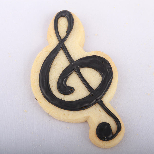 Custom Musical Clef Cookie - Bread House Bakery Cincinnati