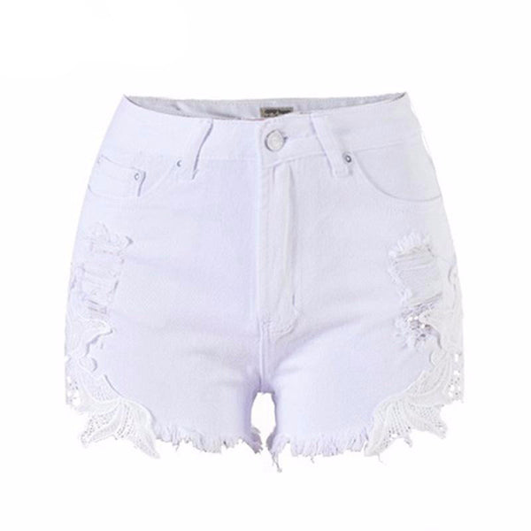 HOTLACE Shorts White / 24 - Playbody