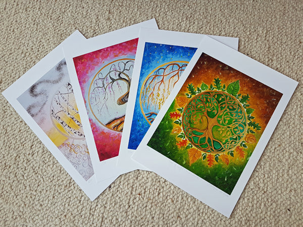 Limited Edition - Signed - Giclee Print  - A - Tree of Life - Winter solstice