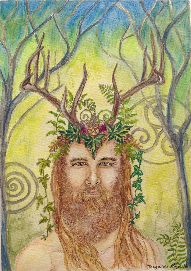 "Card - 7 x 5"" - Pagan - Protector of the Woods"