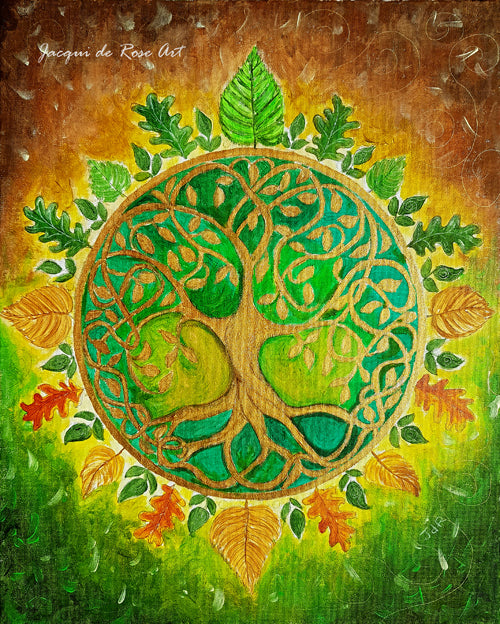 "Card - 7 x 5"" - A - Tree of Life"