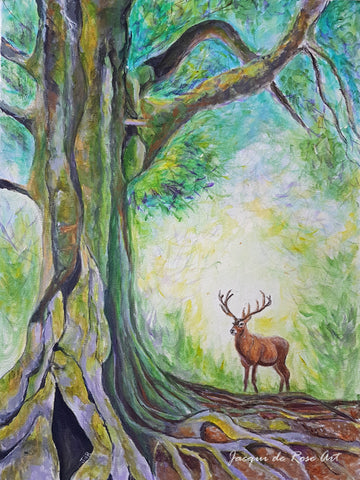 Limited Edition - Signed - Giclee Print  - A - Tree, The Mother Tree