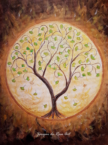 P - Tree of Life - Gingko