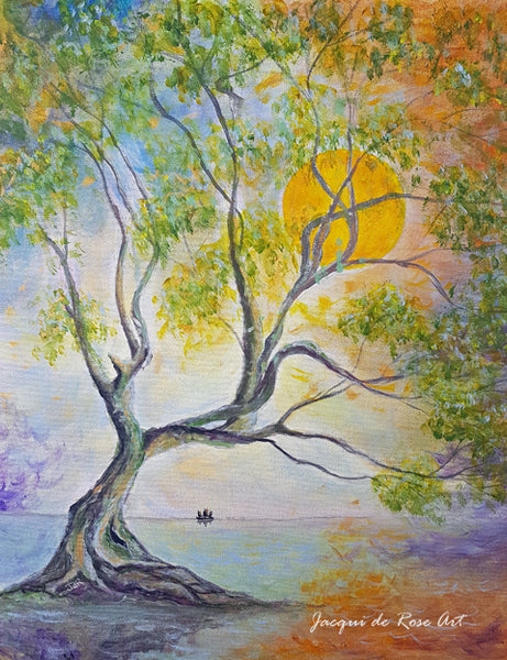 Limited Edition - Signed - Giclee Print  - A - Tree, Calm
