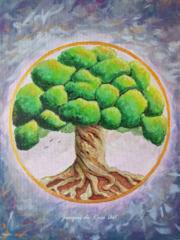 Limited Edition - Signed - Giclee Print  - A - Tree of Life - Yew tree