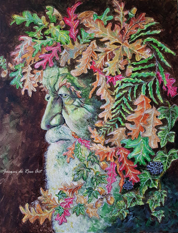 Limited Edition - Signed - Giclee Print  - A - The Oak King