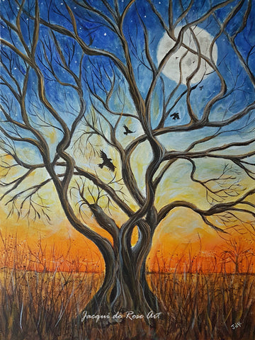 Limited Edition - Signed - Giclee Print  - A - Tree, Winter Dawn