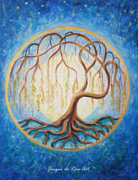 P - Tree of Life - Willow