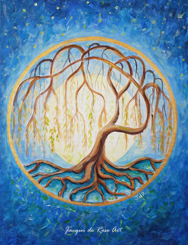 Limited Edition - Signed - Giclee Print  - A - Tree of Life - Willow tree