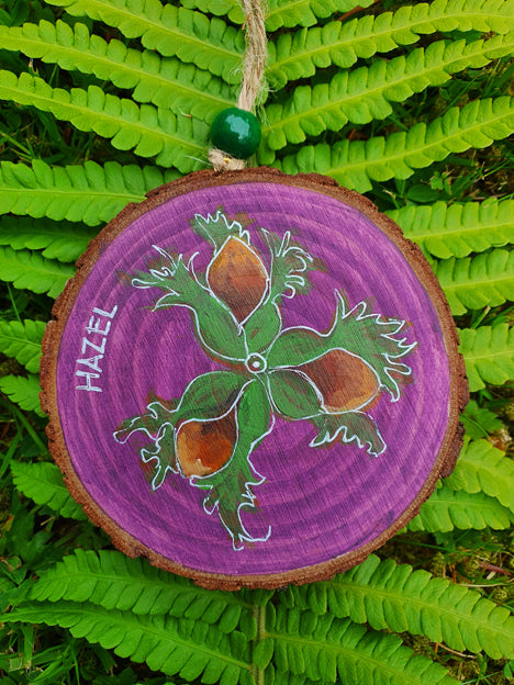 Celtic Tree Calendar - 9 - Hazel - Aug 5 to Sep 1