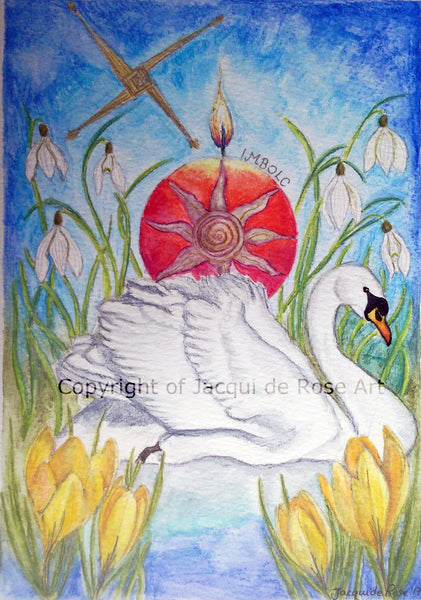 Original Painting - P - Imbolc Blessings