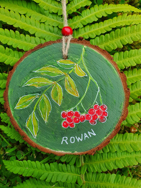 Celtic Tree Calendar - 2 - Rowan - Jan 21 to Feb 17