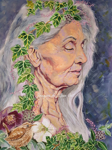 Limited Edition - Signed - Giclee Print  - A - Grace - The Crone